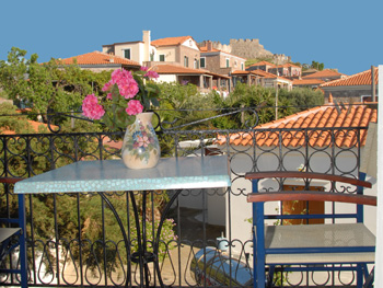 At Molyvos Mithimna Lesvos Greece Meet The Apartments Queen Greek Islands